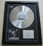 KT TUNSTALL - Drastic Fantastic CD / PLATINUM PRESENTATION DISC